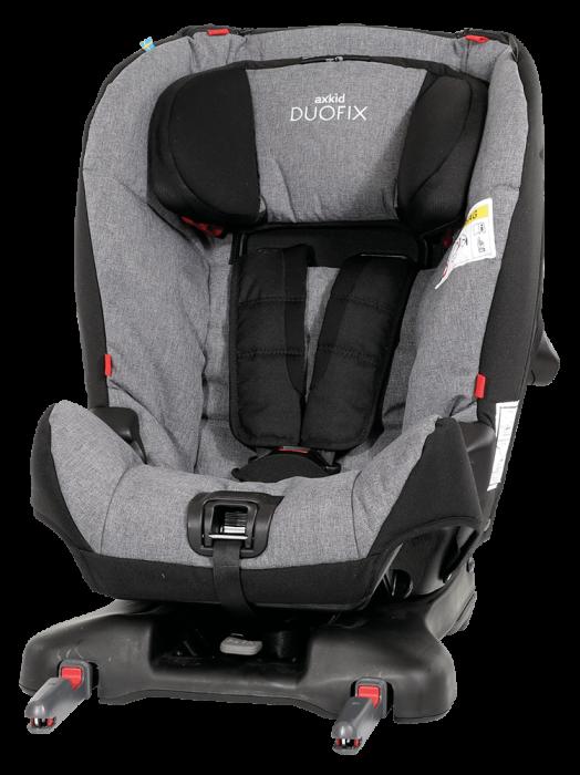 AxKid DuoFix. De la 9 - 25 kg (de la 7 luni-75 cm la 5-7 ani). Prindere în Isofix sau cu centură. Omologat rear facing până la 25 kg. 1
