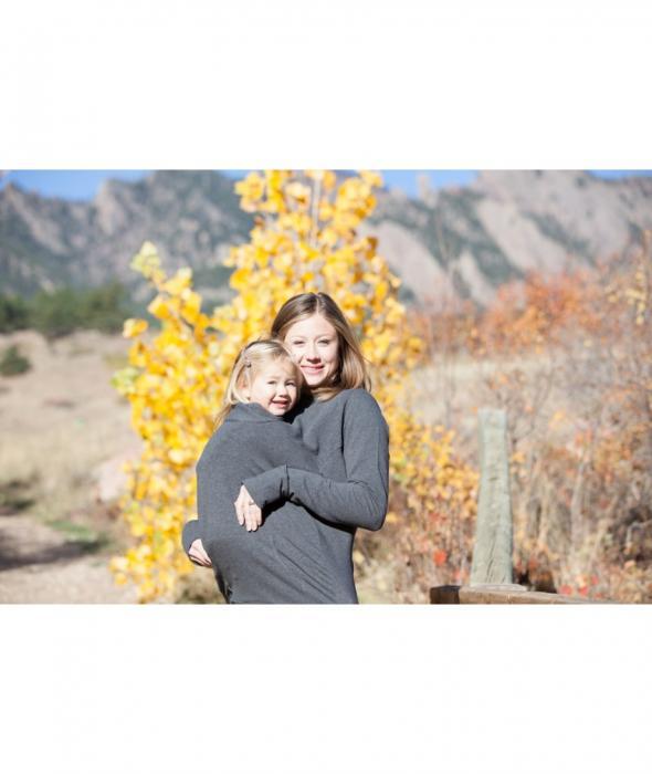 Boba - Hanorac pentru purtarea bebelușului pe vreme rece