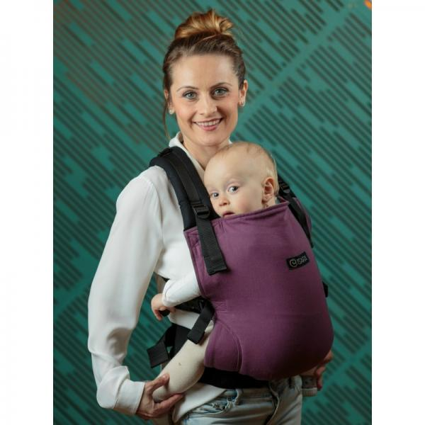 Isara V3 HALF wrap conversion Burgundivine Toddler
