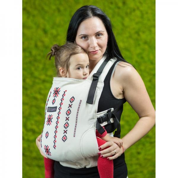 Marsupiu Isara v3 Transylvanian Mountains Full Wrap Conversion Toddler