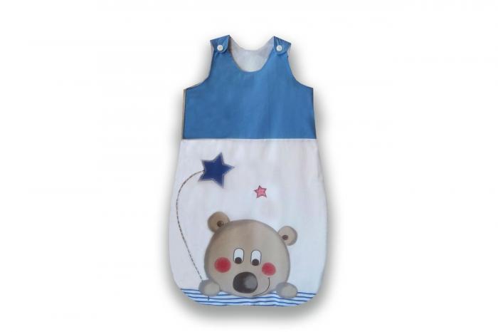 Kids Decor - Sac de dormit nou născut (60 cm). Bumbac 100%.
