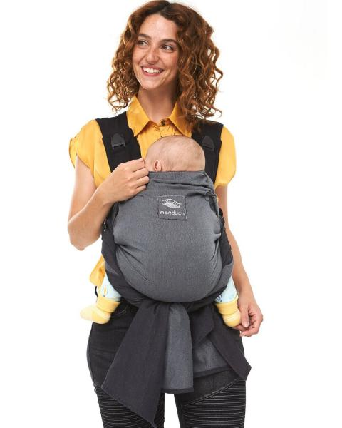 Manduca DUO - De la naștere la 15 kg. Ideal pentru primul an. 1