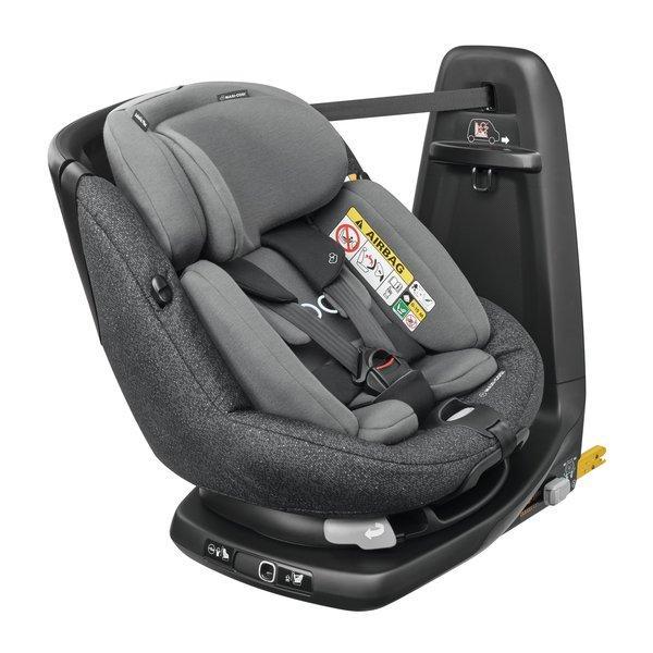 Maxi Cosi - AxissFix Plus i-Size. De la naștere la 4 ani. Prindere exclusiv în Isofix + Top Tether. Rotire 360 grade. 1
