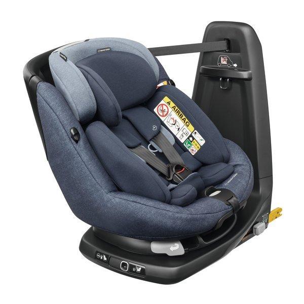 Maxi Cosi - AxissFix Plus i-Size. De la naștere la 4 ani. Prindere exclusiv în Isofix + Top Tether. Rotire 360 grade. 9