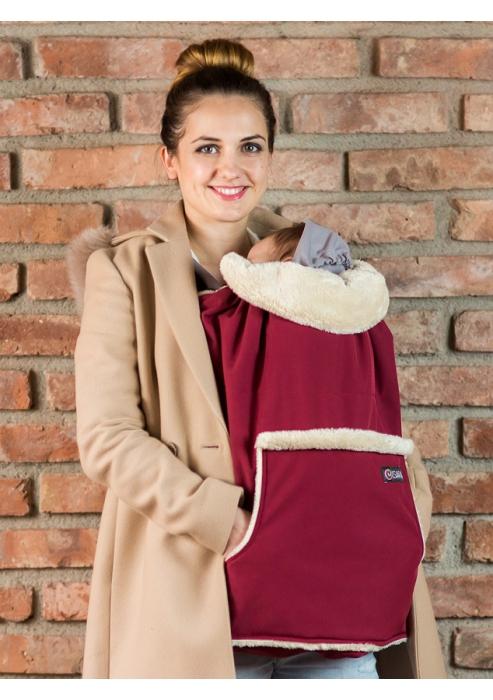 Isara - Protecție universală pentru vreme rece. Culoare Burgundy. 0
