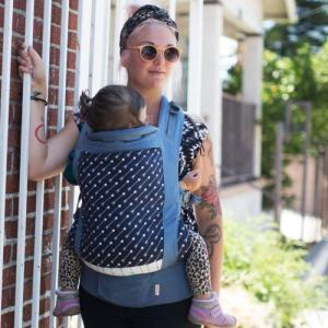 Beco Toddler - Marsupiu SSC ergonomic. Pentru bebe de la aprox. 1 an +. Purtare în față sau în spate. Poziționare bretele în X sau în paralel.