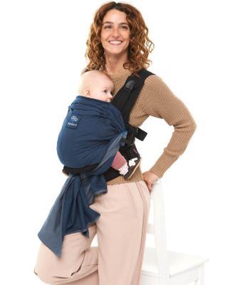 Manduca DUO - De la naștere la 15 kg. Ideal pentru primul an.