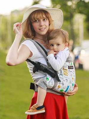 Marsupiu Isara v3 Chic in Paris Toddler