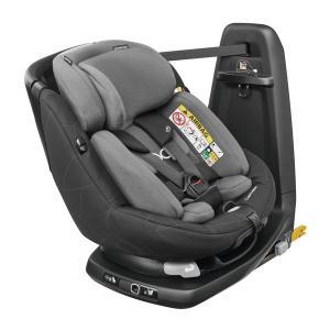 Maxi Cosi - AxissFix Plus i-Size. De la naștere la 4 ani. Prindere exclusiv în Isofix + Top Tether. Rotire 360 grade.